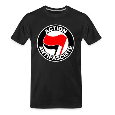 T-shirt organique Action antifasciste