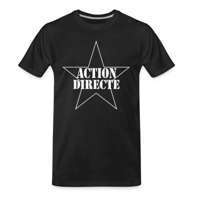 T-shirt organique Action directe