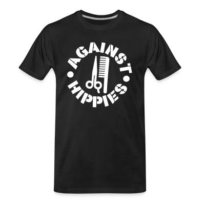 T-shirt organique Against hippies