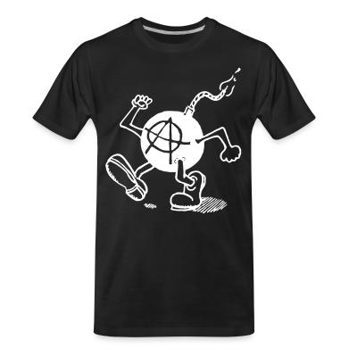 T-shirt organique Anarchy Bomb