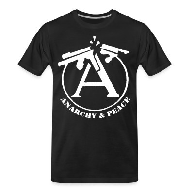 T-shirt organique Anarchy & peace