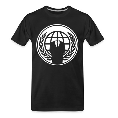 T-shirt organique Anonymous