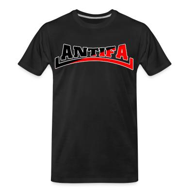 T-shirt organique Antifa