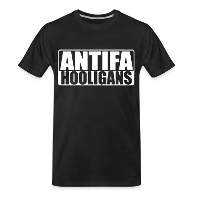 T-shirt organique Antifa hooligans