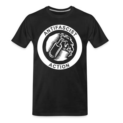 T-shirt organique Antifascist action