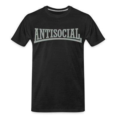 T-shirt organique Antisocial