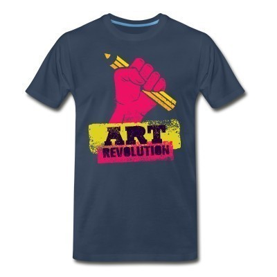 T-shirt organique Art revolution