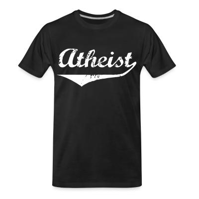T-shirt organique Atheist