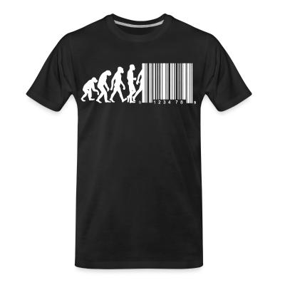 T-shirt organique Bar code evolution