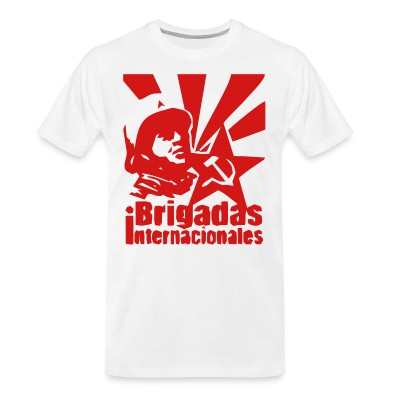 T-shirt organique Brigadas internationales
