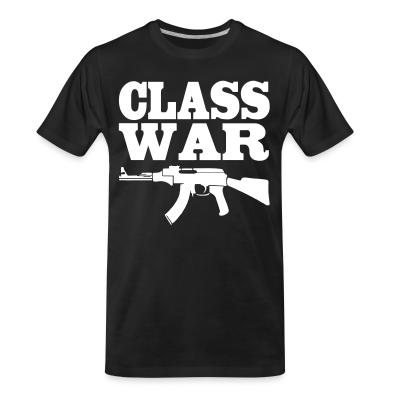 T-shirt organique Class War AK47