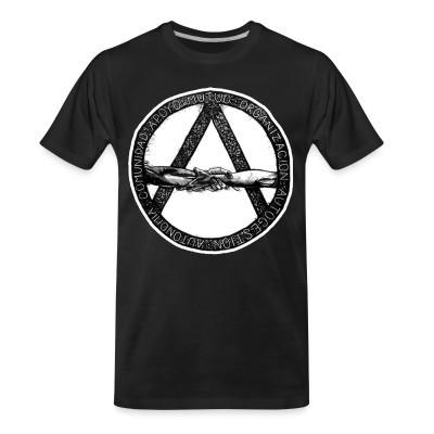 T-shirt organique Comunidad apoyo mutuo oganizaction autogestion autonomia