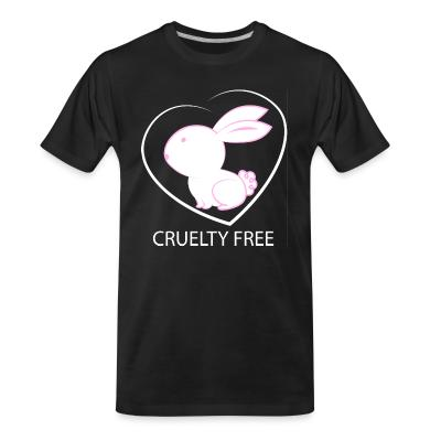 T-shirt organique Cruelty free