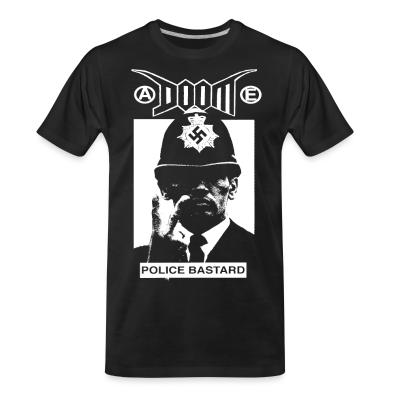 T-shirt organique Doom - Police bastard