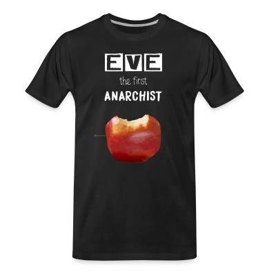 T-shirt organique Eve the first anarchist