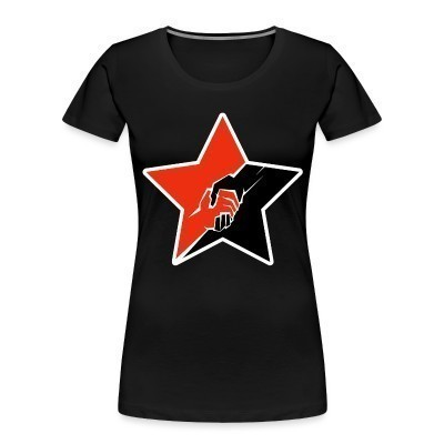 Organique Femmes Anarcho-Communist Red & Black Star