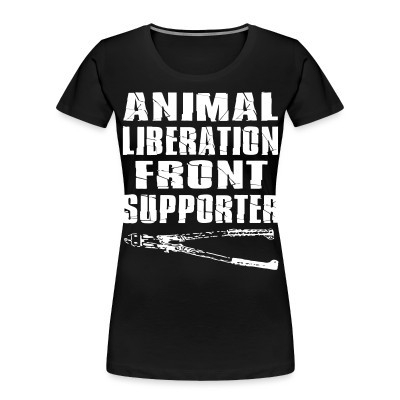 Organique Femmes Animal liberation front supporter