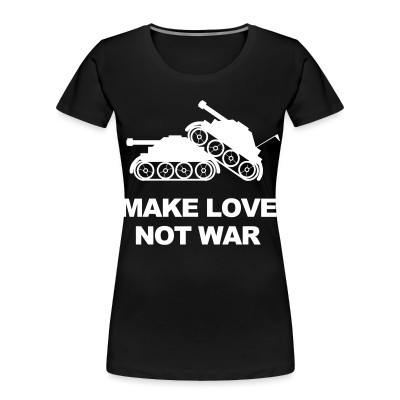 Organique Femmes Make love not war