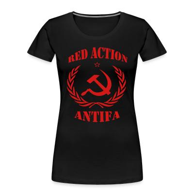 Organique Femmes Red action antifa