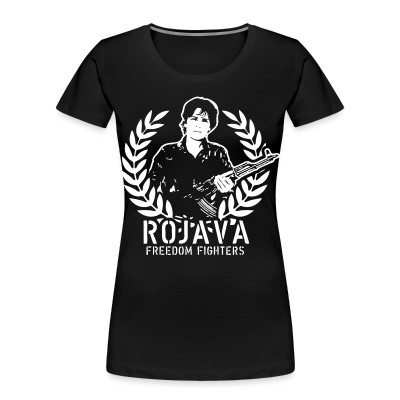 Organique Femmes Rojava freedom fighters
