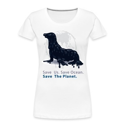Organique Femmes Save us. Save ocean. Save the planet.