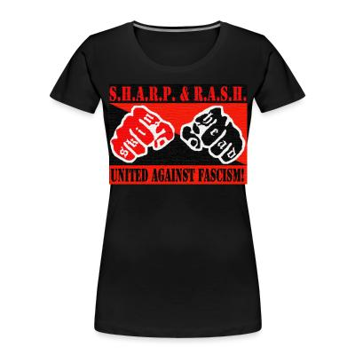 Organique Femmes SHARP & RASH united against fascism!