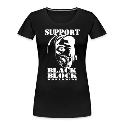 Organique Femmes Support black block worldwide