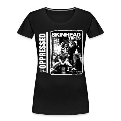 Organique Femmes The Oppressed - Skinhead times