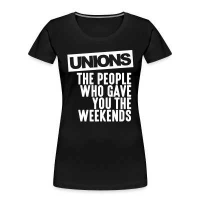 Organique Femmes Unions - the people who gave you the weekends