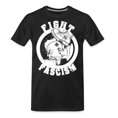 T-shirt organique Fight fascism