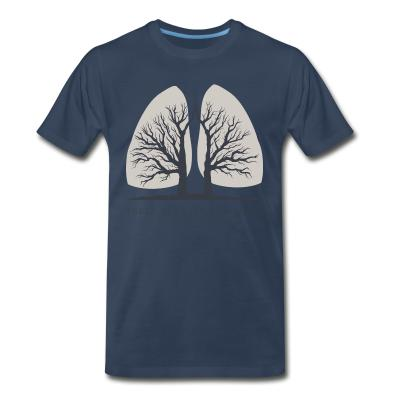 T-shirt organique Forests are the lungs of earth