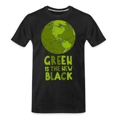 T-shirt organique Green is the new black