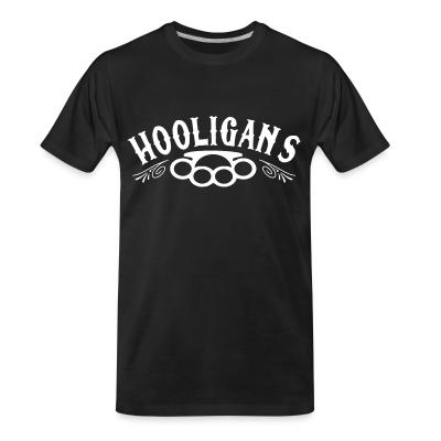 T-shirt organique Hooligans