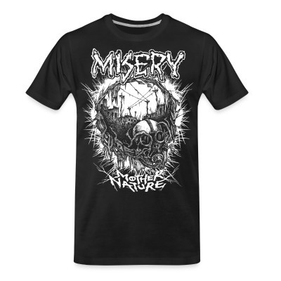 T-shirt organique Misery - Mother nature