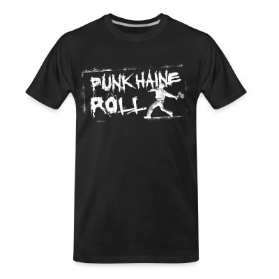 T-shirt organique Punk Haine Roll