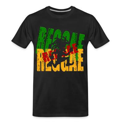 T-shirt organique Reggae