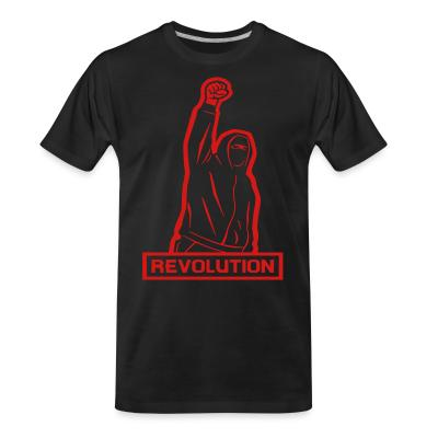 T-shirt organique Revolution