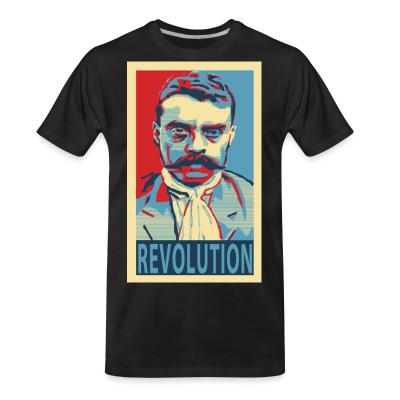 T-shirt organique Revolution (Emiliano Zapata)