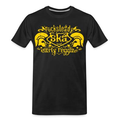 T-shirt organique Rocksteady SKA and early reggae
