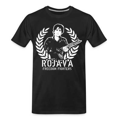T-shirt organique Rojava freedom fighters