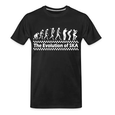 T-shirt organique The evolution of SKA