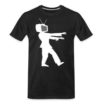 T-shirt organique TV Zombie