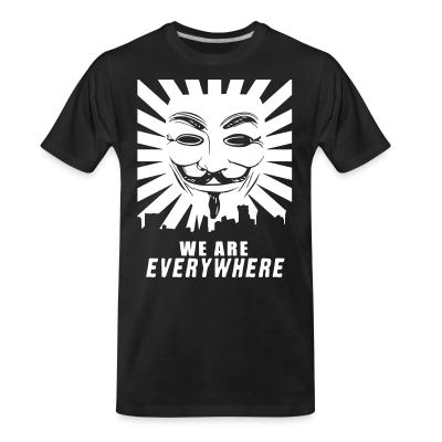 T-shirt organique We are everywhere