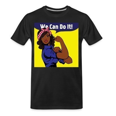 T-shirt organique We can do it!