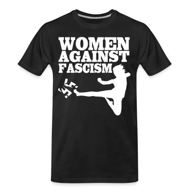 T-shirt organique Women against fascism