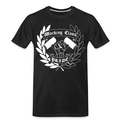 T-shirt organique Working class pride