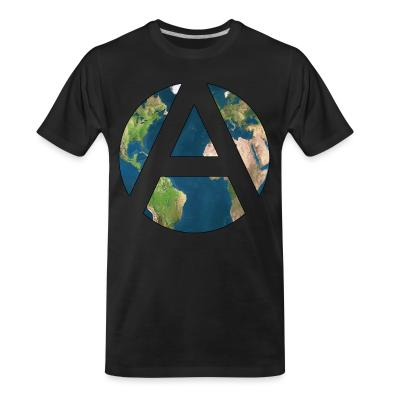 T-shirt organique Worldwide Anarchism