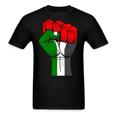 T-shirt Palestine Raised Fist