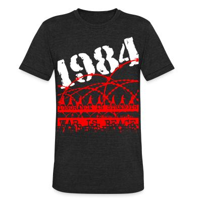 Produit local 1984 ignorance is strength war is peace