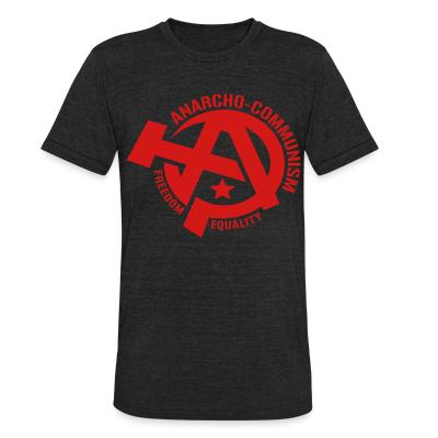 Produit local Anarcho-communism. Freedom, equality
